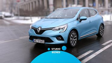 Renault Clio E-Tech Hybrid w Studiu Biznes