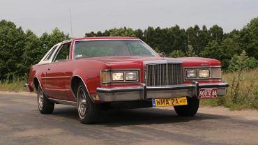 Mercury Cougar 1977 należący do Mariusza Bonisławskiego