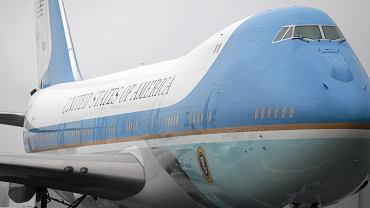 Boeing 747 jako Air Force One (za kadencji Baracka Obamy)