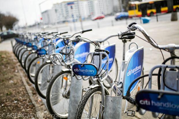 Pierwsze rowery Veturilo po zimowej przerwie