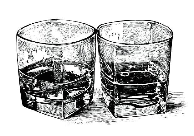 Szklanki whisky