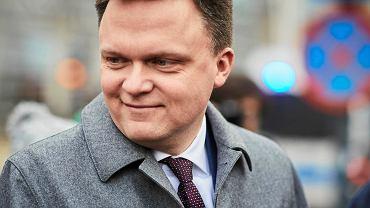 Wybory prezydenckie 2020. Szymon Hołownia w Łodzi