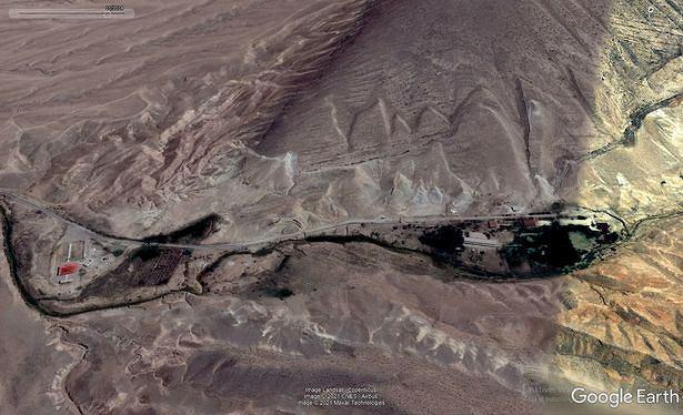 Internauta przeglądając Google Maps, znalazł kompleks