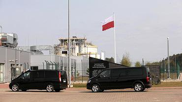 Prezydencka kolumna jechała ze świnoujskiego gazoportu do Białogardu