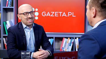 Krzysztof Łapiński w rozmowie Gazeta.pl
