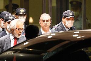 Carlos Ghosn znów wyszedł z aresztu za kaucją. I musi ograniczyć kontakty z żoną