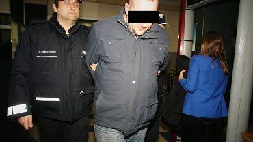 Piotr M., motorniczy, który po pijanemu spowodował wypadek, w którym zginęły dwie osoby, w łódzkim sądzie