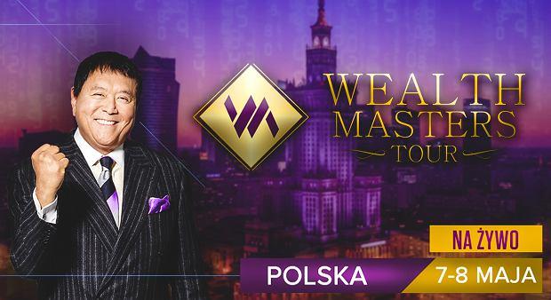 Wealth Master's Tour - spotkaj się z Robertem Kiyosaki