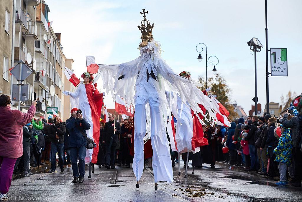 11.11.2017. XV Parada Niepodległości w Gdańsku / Fot. Jan Rusek / Agencja Gazeta