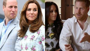 """Książę William i księżna Kate """"są zdruzgotani""""! Winni mają być Meghan Markle i książę Harry"""