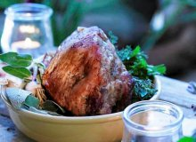 Pieczeń z mięsa koziego - ugotuj