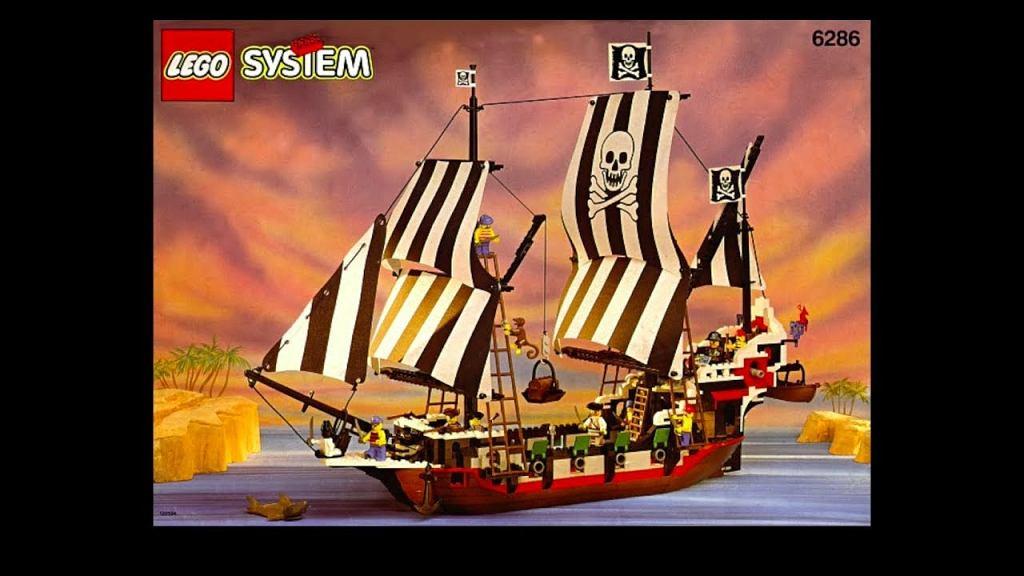 Statek Skull's Eye Schooner, czyli jeden z najbardziej poszukiwanych dziś zestawów Lego
