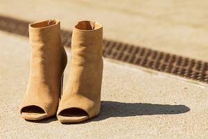 Botki peep toe - buty dla lubiących kreatywne rozwiązania