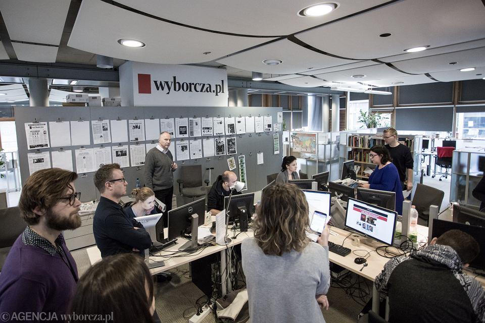 Kolegium w redakcji Wyborcza.pl