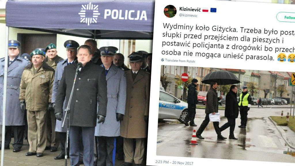 Minister Jarosław Zieliński