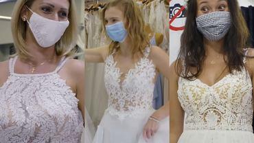 'Ślub od pierwszego wejrzenia'. Panny młode wybrały suknie ślubne