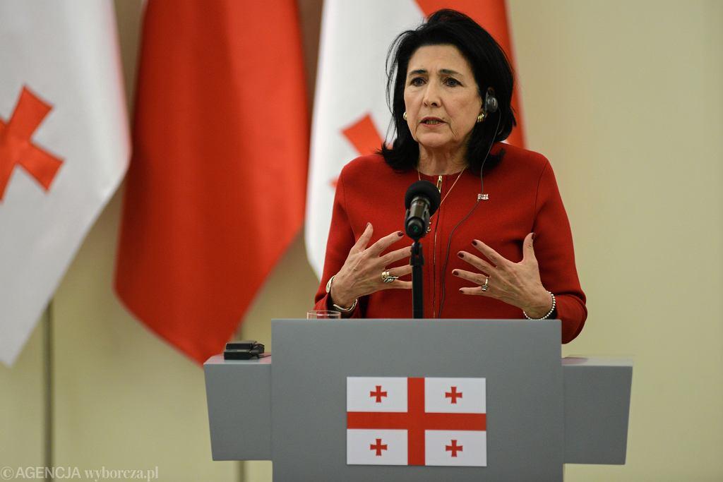 Prezydent Gruzji Salome Zourabichvili