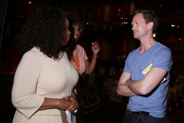 Oprah Winfrey,Gayle King i Neil Patrick Harris