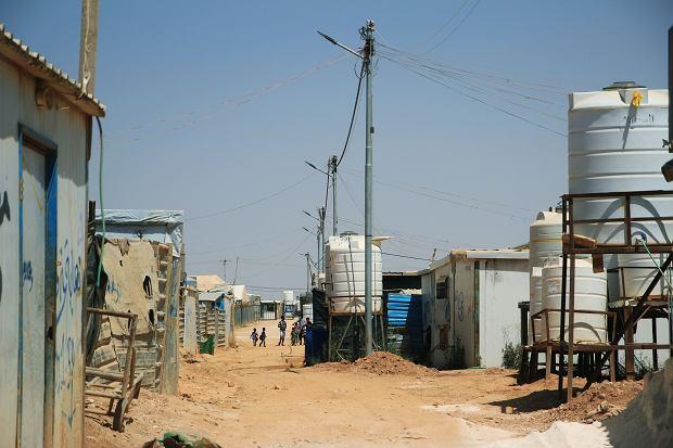 Obóz Zaatari w Jordanii