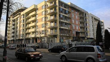 Warszawa. Budynek przy ulicy Borzymowskiej,