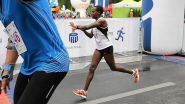 Półmaraton Gryfa 2014. Agnes Chebet