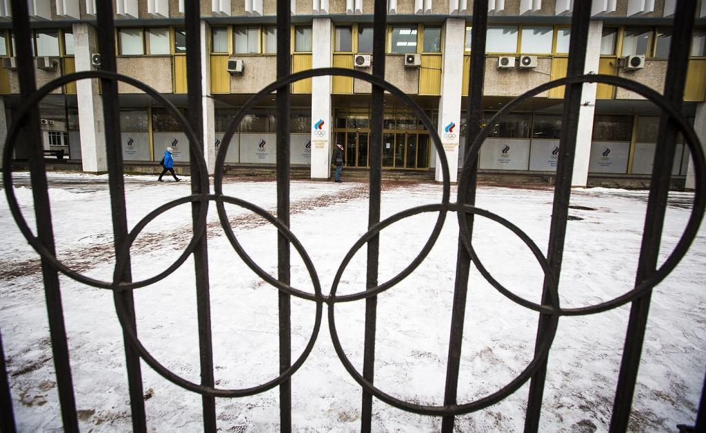 Siedziba Rosyjskiego Komitetu Olimpijskiego w Moskwie