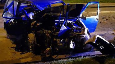 Wypadek w Lublinie
