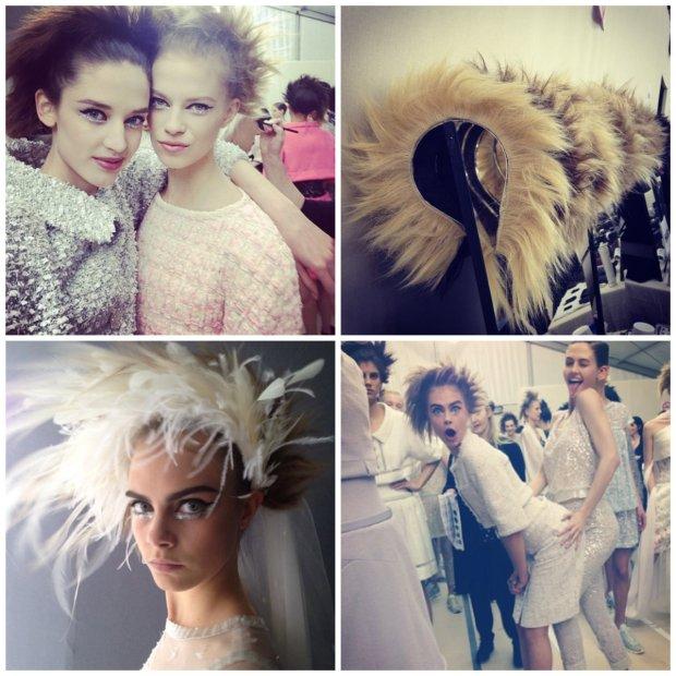 Włosy Chanel Couture