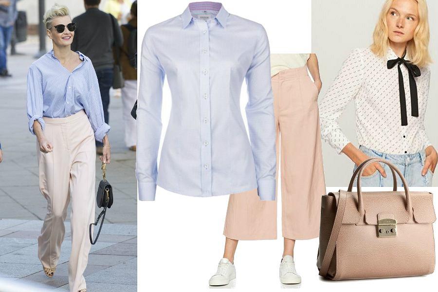 Spodnie w stylu Małgorzaty Kożuchowskiej