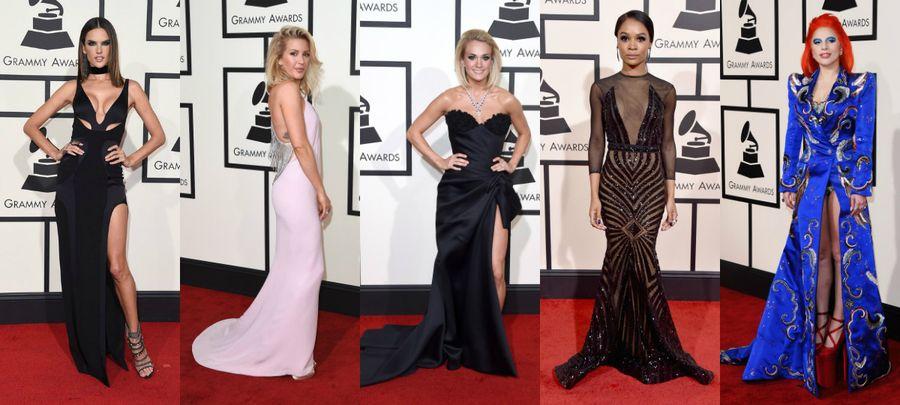 Grammy 2016 najlepsze kreacje