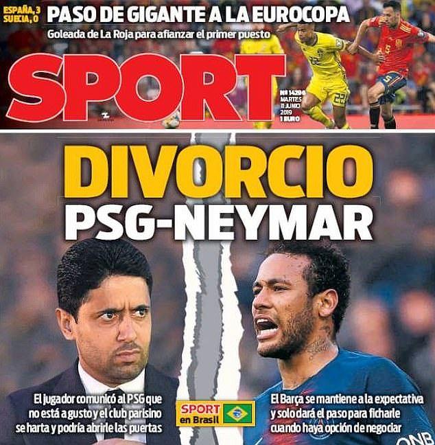 Rozwód PSG z Neymarem