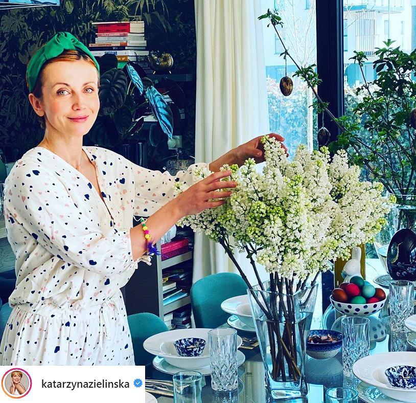 Katarzyna Zielińska pokazała się bez makijażu. 'Naturalne piękno! Nic dodać, nic ująć'