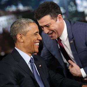 "Barack Obama w programie ""Jimmy Kimmel Live!"""