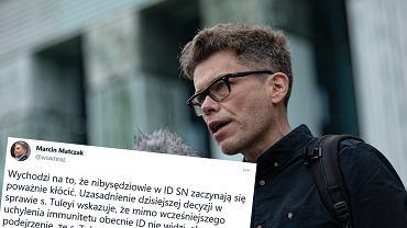 Marcin Matczak komentuje decyzję ws. Igora Tulei