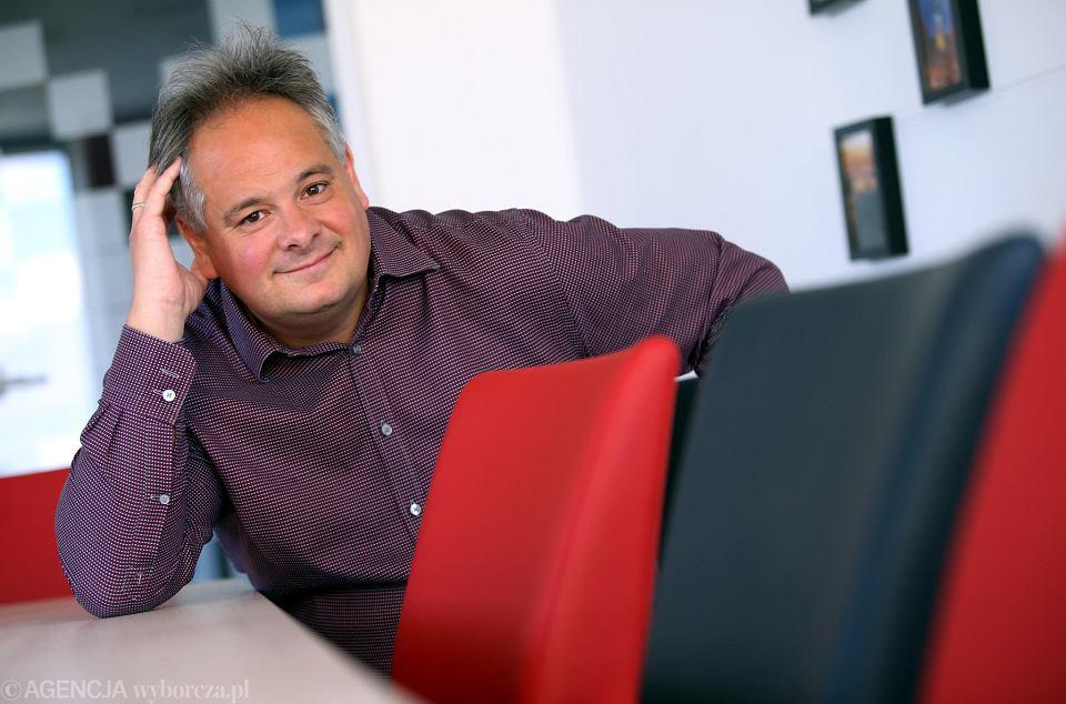 Gregoire Nitot, nowy właściciel Polonii Warszawa oraz prezes Sii Polska