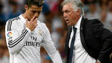 Cristiano Ronaldo i Carlo Ancelotti
