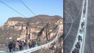 Szklany most w prowincji Hebei