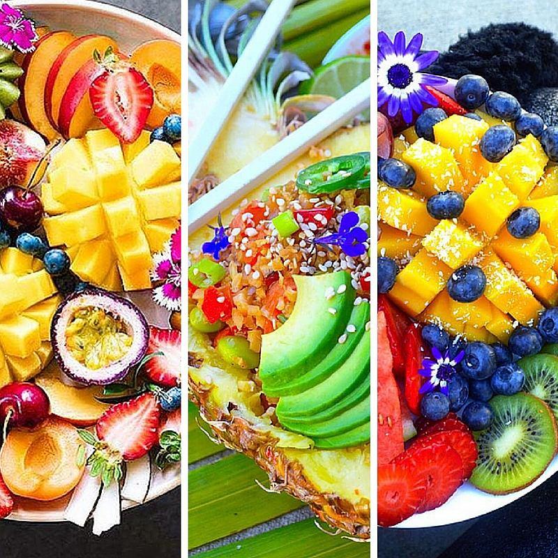 Wyjątkowo podane owoce