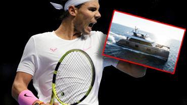 Rafael Nadal odebrał jacht