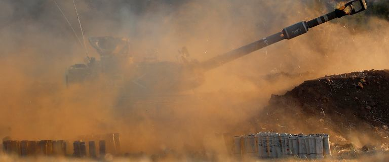 Izraelskie wojsko: Siły powietrzne i lądowe atakują Strefę Gazy