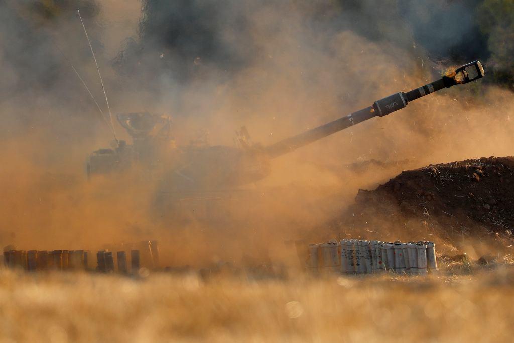 Izraelska artyleria ostrzeliwuje Strefę Gazy