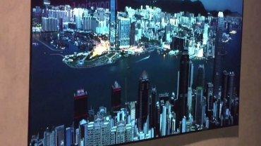 IFA 2015: widzieliśmy telewizor LG cienki jak kartka papieru