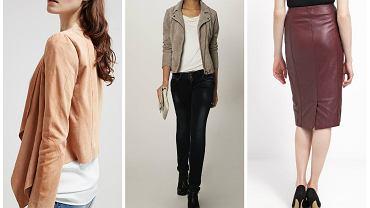 Jak druga skóra - przegląd najmodniejszych ubrań ze skóry i zamaszu