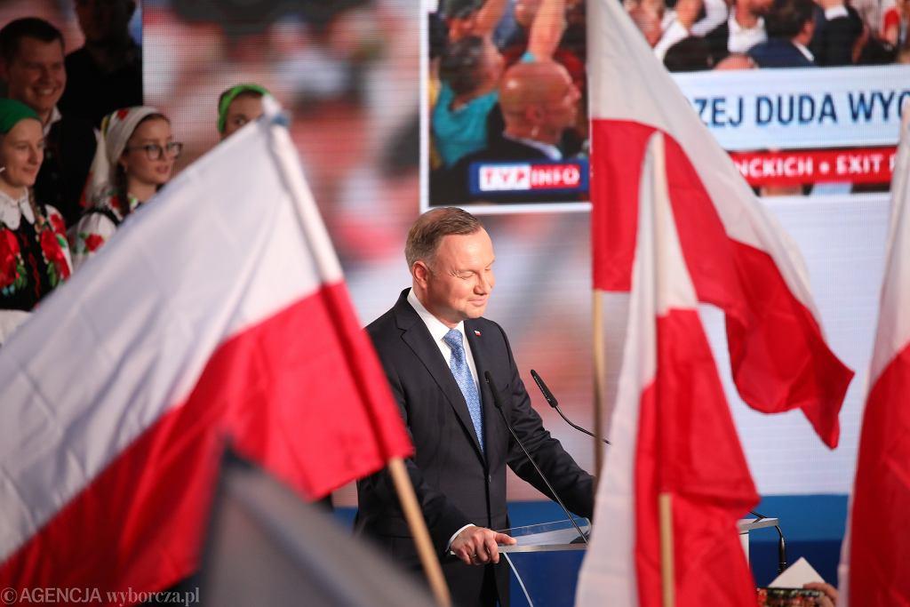Wieczór Wyborczy Andrzeja Dudy w Łowiczu