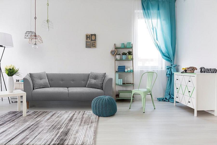 Sofa to najważniejszy mebel w salonie - musi być ładny i funkcjonalny