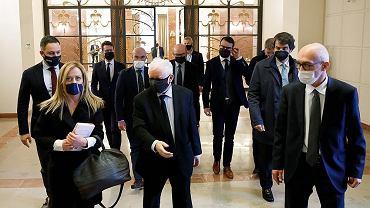 Spotkanie Jarosława Kaczyńskiego z liderami partii należących do EKR
