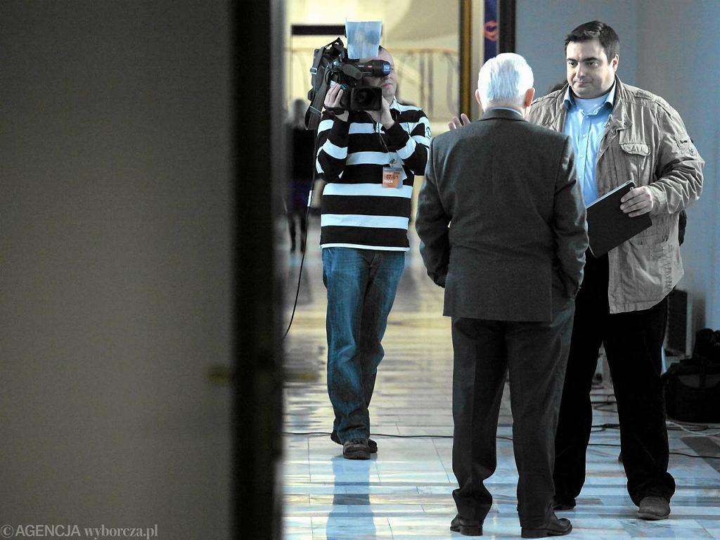 Tomasz Sekielski rozmawia z Leszkiem Millerem. Były premier jest zaskoczony, że Sejm jest źle strzeżony