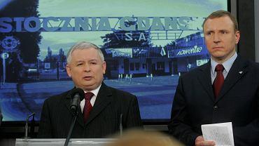 Jacek Kurski w 2008 roku w Sejmie