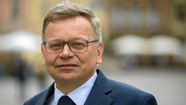 Tadeusz Zysk był kandydatem PiS na prezydenta Poznania w wyborach samorządowych w 2018 r.