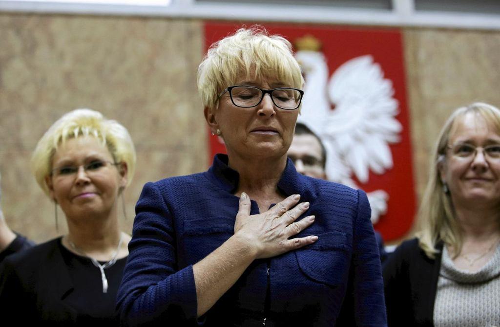 Sędzia Beata Morawiec została w 2017 roku odwołana przez Zbigniewa Ziobrę ze stanowiska prezes Sądu Okręgowego w Krakowie